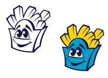 Заедк картошки быстро-приготовленное питания Стоковое Изображение