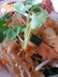 зажаренная лапша тайская Стоковое Изображение RF