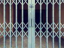 Зажаренная дверь защищает любую вещь в доме Стоковые Изображения