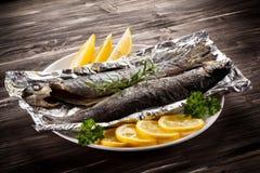 Зажаренная выкружка рыб Стоковые Изображения RF