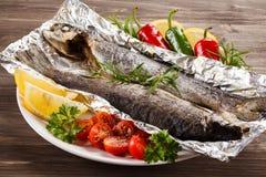 Зажаренная выкружка рыб Стоковое Фото