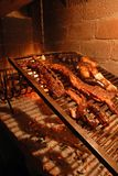 зажаренная в духовке говядина барбекю Стоковое Фото