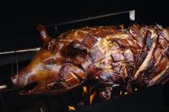 Зажаренная в духовке свинья сосунка Стоковая Фотография RF
