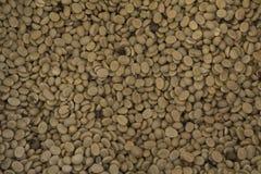 Зажаренная в духовке предпосылка текстуры кофейных зерен Стоковое Фото