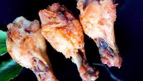 зажаренная еда цыпленка Стоковая Фотография
