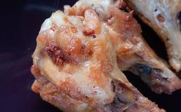 зажаренная еда цыпленка Стоковые Фото