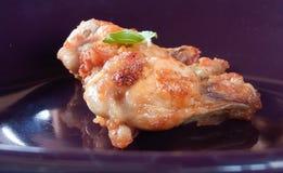 зажаренная еда цыпленка Стоковое Изображение RF