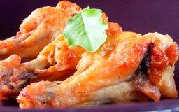 зажаренная еда цыпленка Стоковые Изображения RF