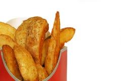 зажаренная картошка Стоковые Фото