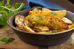 зажаренная картошка Стоковое Изображение RF