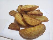 зажаренная картошка Стоковое Фото