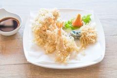 зажаренная креветка (тэмпура) Стоковые Фото