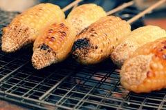 Зажаренная мозоль, горячий стержень кукурузного початка Стоковая Фотография RF