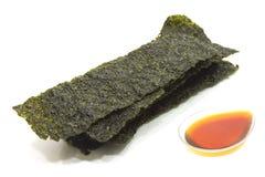 Зажаренная морская водоросль Стоковая Фотография