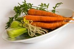 Зажаренное в духовке вегетарианское наслаждение Стоковая Фотография