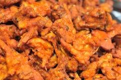 Зажаренное в духовке мясо зубочистки Стоковое фото RF
