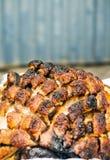 зажаренное в духовке мясо стоковое фото rf