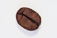 Зажаренное в духовке кофейное зерно изолированное на белой предпосылке Стоковое фото RF