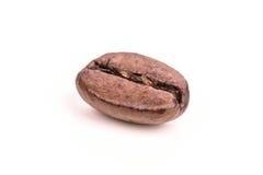 Зажаренное в духовке кофейное зерно изолированное на белой предпосылке Стоковые Фото