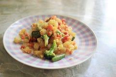 Зажаренное в духовке vegetable смешивание Стоковые Фотографии RF