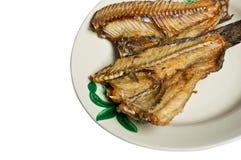 зажаренное пресноводное рыб Стоковые Фото