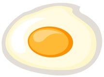 зажаренное яичко Стоковые Фото