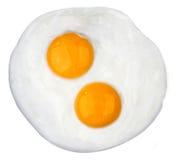 зажаренное яичко Стоковое Изображение