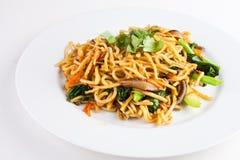 зажаренное noodle1 Стоковое Фото