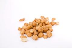 зажаренные в духовке арахисы меда Стоковое Фото