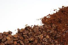 Зажаренные в духовке кофейные зерна Стоковая Фотография RF