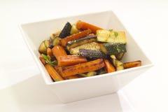 зажаренные в духовке овощи Стоковая Фотография