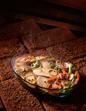 зажаренные в духовке рыбы Стоковое Изображение