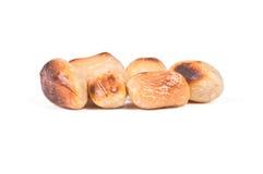 Зажаренные в духовке арахисы Стоковое Фото
