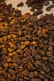 Зажаренные в духовке кофейные зерна Стоковое Изображение RF