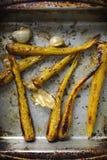Зажаренные в духовке моркови herritage Стоковые Фото