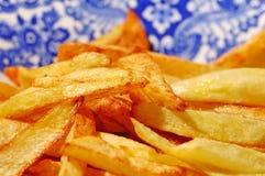зажаренные картошки Стоковое Фото