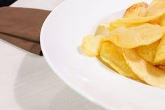 зажаренные картошки Стоковое Изображение
