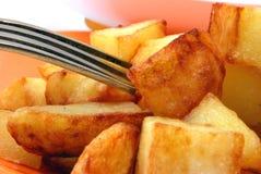 зажаренные картошки Стоковое Изображение RF