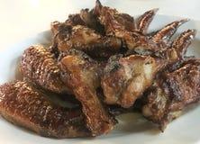Зажаренные крыла цыпленка BBQ Стоковое Изображение