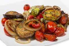 Зажаренные овощи Стоковое Фото