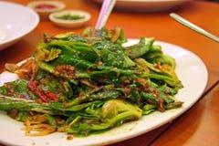 зажаренные овощи Стоковое Изображение RF