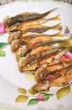 зажаренные рыбы Стоковые Фотографии RF