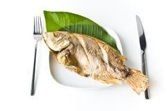 Зажаренные рыбы Стоковые Фото