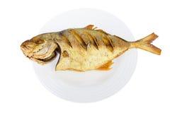 Зажаренные рыбы. Стоковая Фотография