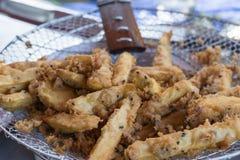 Зажаренные сладкие картофели Стоковые Изображения RF