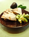 Зажаренные quesadillas цыпленка Стоковое фото RF