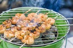 Зажаренные schrimps Стоковые Фотографии RF