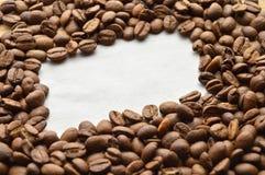 зажаренный в духовке кофе фасолей Стоковые Фото