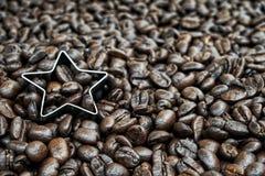 зажаренный в духовке кофе Стоковые Изображения RF