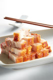 зажаренный в духовке свинина мяса стоковое изображение rf